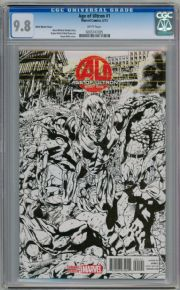 Age Of Ultron #1 Hitch Sketch Variant 1:100 CGC 9.8 Marvel comic book
